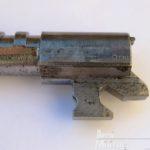 Canna della HP35. Si notano i punzoni WaA sul lato sinistro, la matricola è invece riportata su quello opposto.