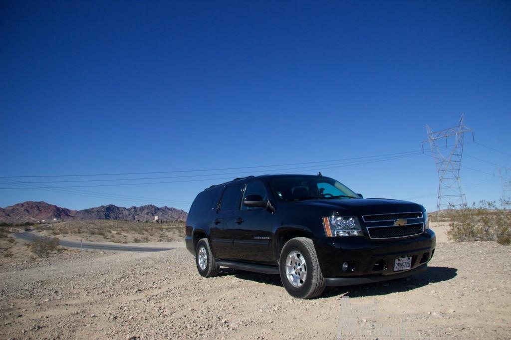SHOT Show 2014 - Media Day Preview - La nostra auto a noleggio
