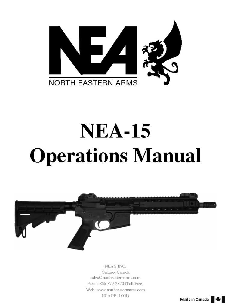 NEA15 5.56 Manual