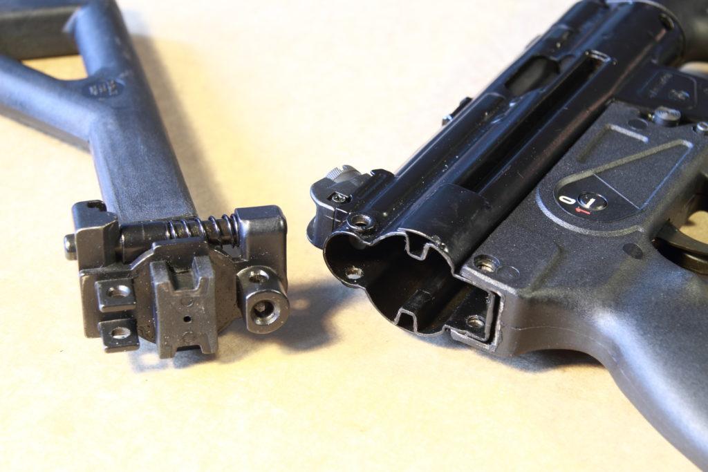 MKE T94K - L'attacco del calciolo
