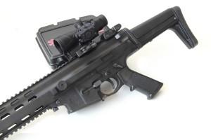 le armi con montate dell ottiche Browe distribuite sempre da Nuova Jager