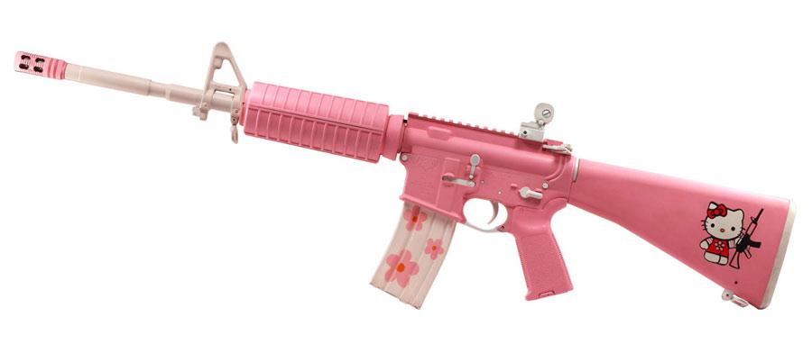 AR-15 Rosa
