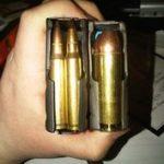 Caricatore con munizioni .223 e .50beo