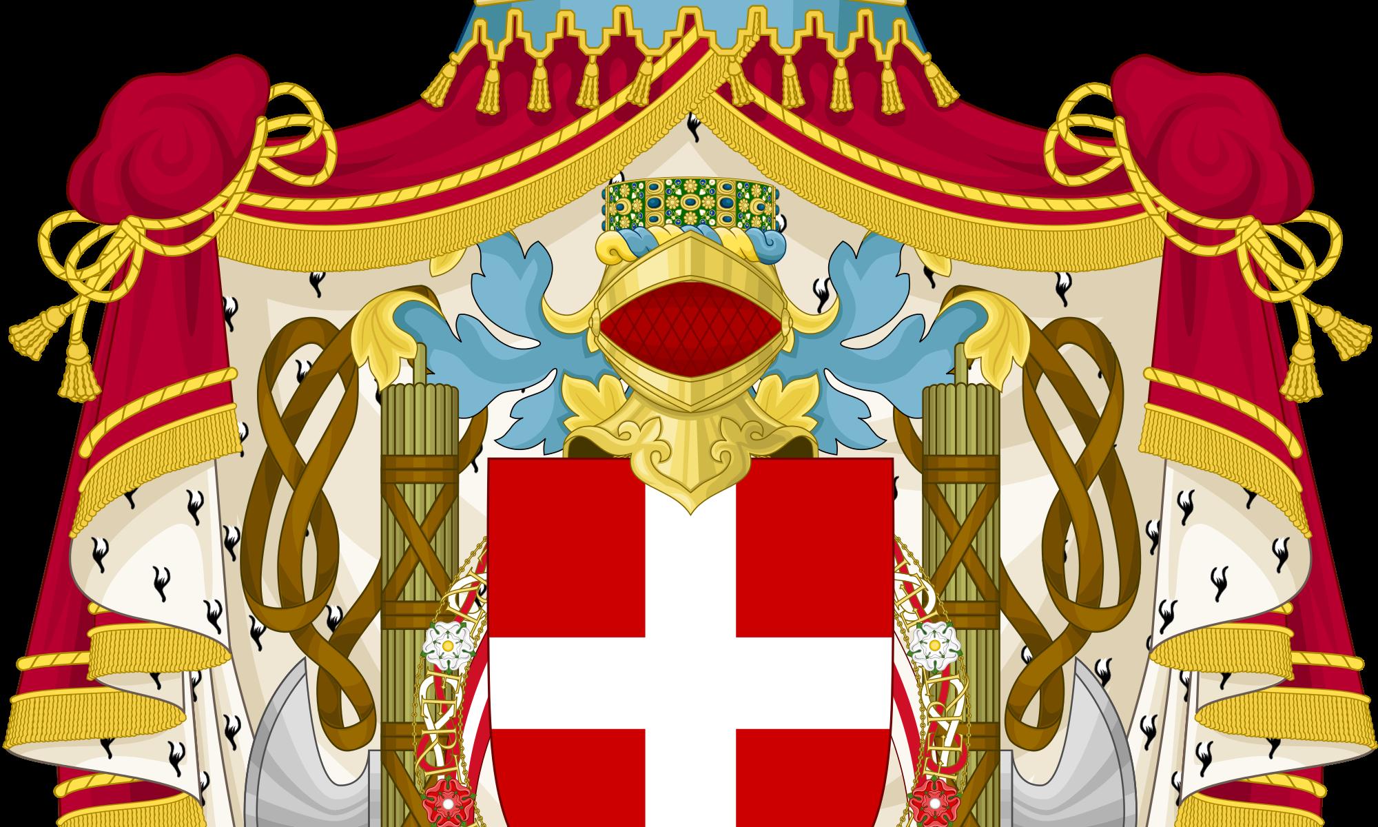Grande stemma del Regno d'Italia dall'11 aprile 1929 al 26 ottobre 1944