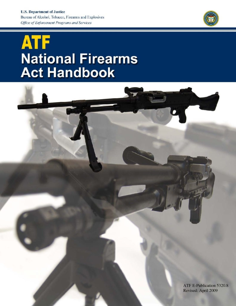 ATF National Firearms Act Book