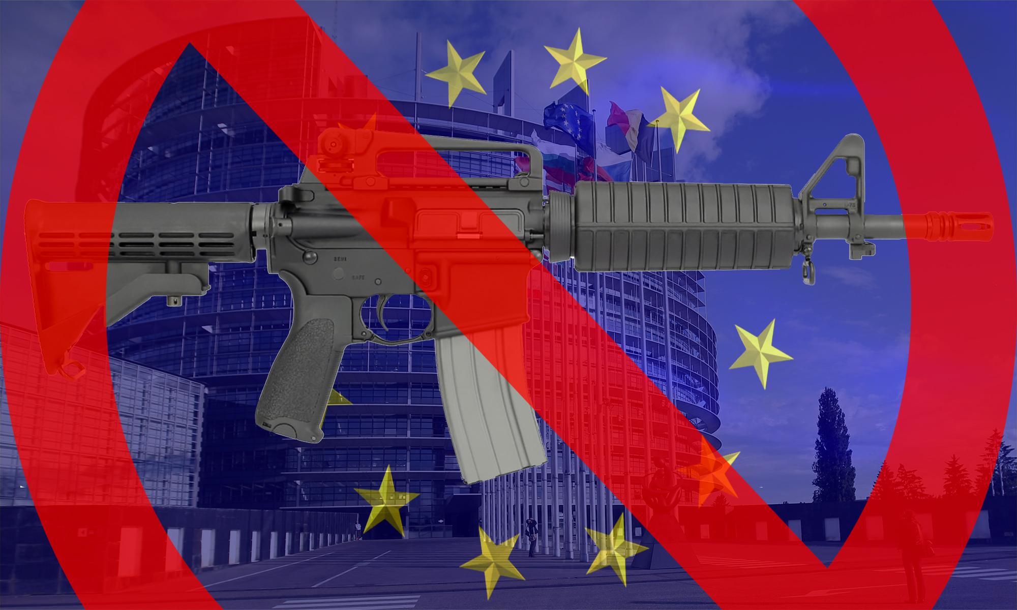Strasburgo AR-15 BAN